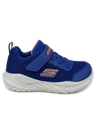 Skechers Nitro Sprint-Krodon Küçük Erkek Çocuk Mavi Spor Ayakkabı 400083N BLOR Mavi
